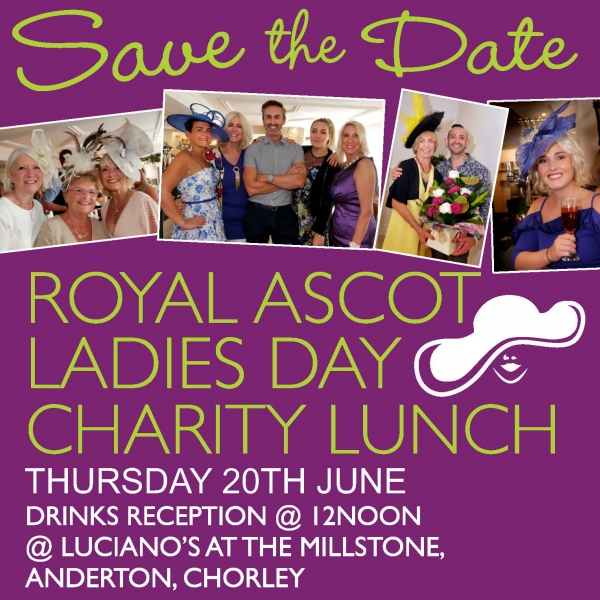 Royal Asscot Ladies Day Charity Lunch